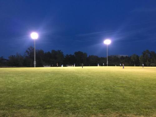 Friendly vs NJCC under lights