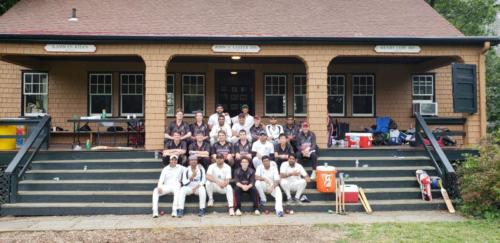 Columbia Team with Haverford Cricket Club