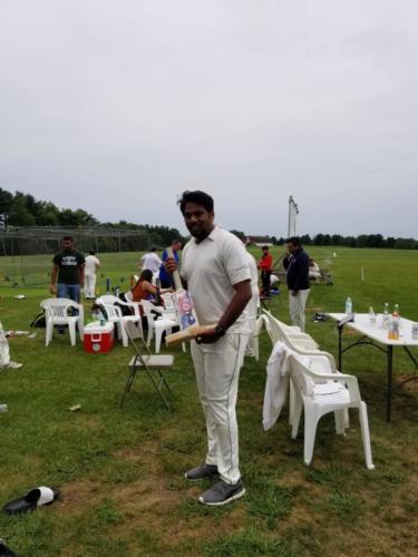 Ballu with D Clark Trophy