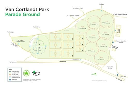 VCP Ground Pitches